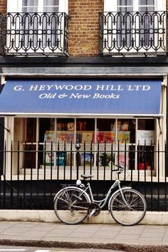 G. Heywood Hill Ltd. | London - where Nancy worked - still a wonderful shop to visit