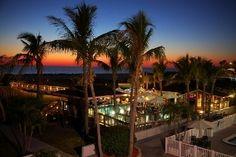 Jimmy B's Beach Bar in St. Pete Beach, Florida.  Say that one time five shots deep ;)