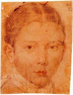 Diego Rodríguez de Silva y Velázquez (1599-1660), Testa di ragazzo, 1617-18. Madrid, Collezione privata.