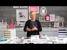 Heidi Swapp 2016 Memory Planner Overview - YouTube