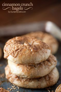 These Cinnamon Crunch bagels are even better than the kind you get at Panera or Einstein's!