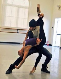 Misty Copeland and Derek Hough rehearsal. Two of my FAVES! Shall We Dance, Lets Dance, Cheerleaders, American Ballet Theatre, Misty Copeland, Dance Like No One Is Watching, Dance Movement, Provocateur, Ballet Photography