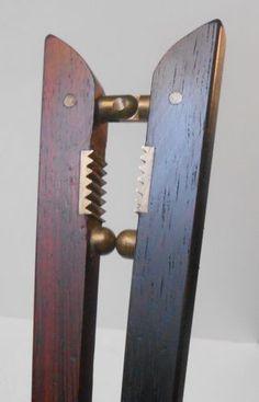Poul-Knudsen-Rosewood-brass-nutcracker-1960s-Carl-Aubock-era-danish-mid-century