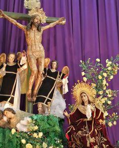 Altar Consagrada Imagen Virgen de Dolores  La Merced z1