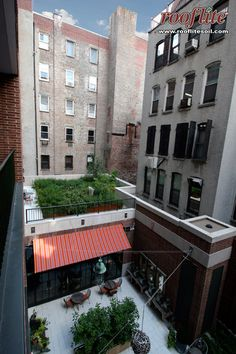 rooflite intensive ag at the Crosby Street Hotel in New York City.
