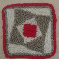 Wonky Squares Thimble, Pot Holders, Squares, Wool, Blanket, Crochet, Pattern, Hot Pads, Bobs