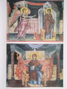 128 Saints, Religion, Interiors, Painting, Byzantine, Santos, Painting Art, Interieur, Religious Education