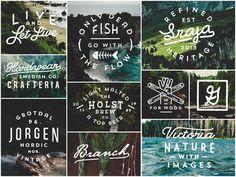 Dribbble - Recent work pt.4 by Jorgen Grotdal   Typography   Lettering   Photography   Design