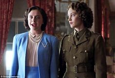 """A royal insider has let slip this week that privately the Queen is far from pleased with the movie, """"A Royal Night Out"""", based on supposedly true events when the 19-year-old Princess Elizabeth and her 14-year-old sister Princess Margaret joined jubilant London crowds for a night to celebrate the end of the Second World War."""