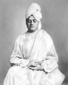 Swami Vivekananda, an icon of meditation.
