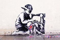 Banksy Mural Chiseled Off London Wall, Reappears At US Auction