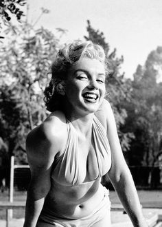 Marilyn Monroe photographed by Bob Beerman, 1950.