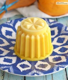 Blog de Recetas: Gelatina de mango. Receta sencilla para el calor