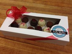 Love a box of truffles for your sweety? www.puffymuffin.com