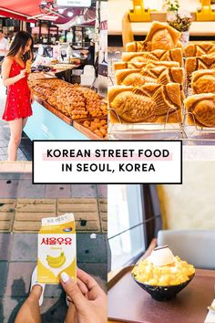 Korean Street Food in Seoul Korea by A Taste of Koko. Here's the ultimate list of must try Korean street foods in Seoul, Korea. How many have you had? #koreanstreetfood #explorekorea #exploreseoul Tteokbokki, Korean Fried Chicken, Fishcakes, Austin Food, Korean Street Food, Banana Milk, Seoul Korea, Restaurant, Dining
