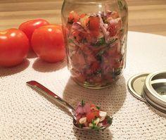 Het recept voor heerlijke tomatensalsa die je binnen een paar tellen op tafel zet.