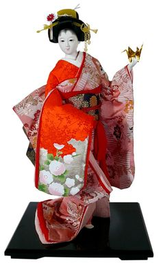 Japanese Traditional Dolls | Japanese traditional doll. Japanese Dolls Collection. The Japonic ...