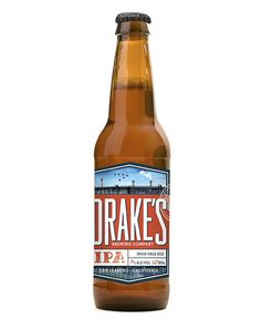 Drake's Brewing Company beer packaging | Molly McCoy, via Oh Beautiful Beer