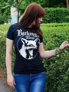 Womens Fox T-shirt, By Ben Prints On Etsy