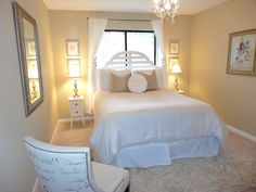 simple small guest bedroom design - Google Search