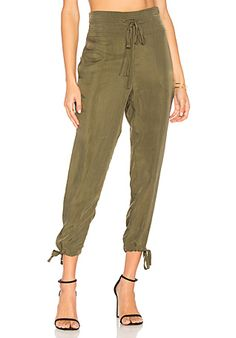 Free People Don't Get Lost Soft Utility Pant in Moss | REVOLVE