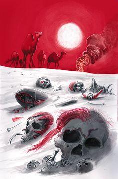 New Suicide Squad #10 by JUAN FERRERYA