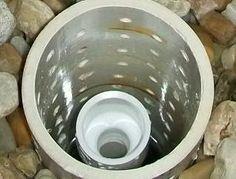 3x5 Aquaponics: Aquaponics plumbing - the Bell Siphon