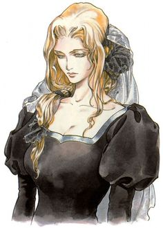 Castlevania: Symphony of the Night Concept Art