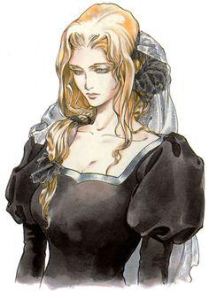 Castlevania: Symphony of the Night Concept Art