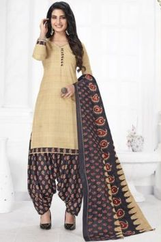 Patiyala Dress, Daily Wear, Printed Cotton, Harem Pants, Suits, How To Wear, Collection, Dresses, Style