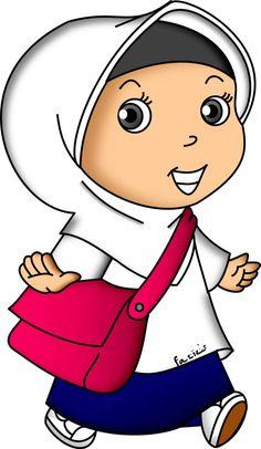 School Cartoon, Cartoon Kids, Doodle Girl, School Frame, Banner Vector, Islamic Pictures, Emoji, Diy And Crafts, Doodles