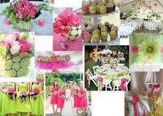 My spring wedding colors
