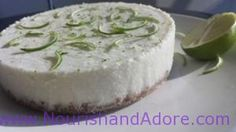 Raw Vegan Coconut-Lime-Cream-Pie GLUTEN FREE, DAIRY FREE, HEALTHY Dessert