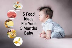 5 Months Baby Food