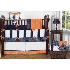 Found it at Wayfair - Arrow 9 Piece Crib Bedding Set