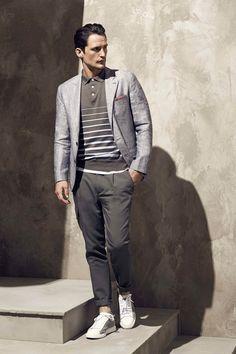 Male Fashion Trends: Brunello Cucinelli Spring-Summer 2017 - Milan Fashion Week #MFW
