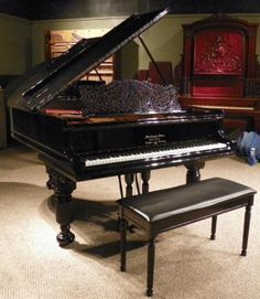 Steinway & Sons Model A Parlor Grand Piano | The Antique Piano Shop