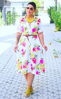 My DIY Garden Party Dress... on the blog Cute Fashion, Diy Fashion, Fashion Dresses, Womens Fashion, Fashion Trends, Cute Dresses, Casual Dresses, Diy Dress, Party Dress