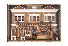 §§§ : English model of a butcher shop : 1850