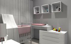 Quarto de Bebê #promob #interiordesign #CamilaLeite