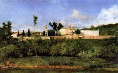 Cigarral, Casimiro Sainz Spanish Painters, Live, Painting, Artists, Painting Art, Paintings, Painted Canvas