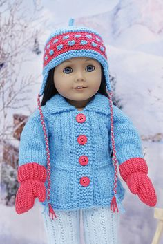 Ravelry: cataddict's winter sports FREEBIE jacket and pants patterns