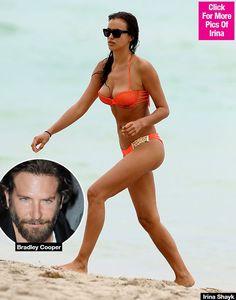 Irina Shayk Bares Butt In Tiny Bikini While Bradley Cooper Admires Her Assets — Racy Pics