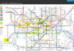 The London Underground map is a thing of beauty, making sense out of the chaos that is the capital's complicated transit system. But there's only so much that it can take -- with new stations, two Crossrail lines and high speed connections to the North all being built or planned, the classic map looks like it's about to buckle under the strain.