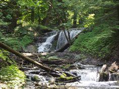Weaver's Creek Falls, Owen Sound, Harrison Park, Ontario, Canada