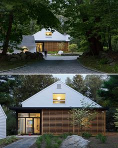 Aamodt / Plumb Architects have completed the renovation of a mid-century home in Lincoln, Massachusetts.