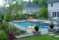 Minimalist Pool Landscaping Ideas As Backyard Pool Landscaping Ideas For Inspire The Design Of Your Home With Graceful Display Pool Decor by Hashim Saddam | Lementstudios.Com