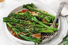 Grab your wok and give broccolini a boost with this tasty and super-healthy side for four.