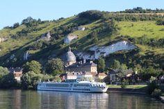 River Baroness this morning in Les Andelys #uniworldcruises #France - let me arrange your travel www.lushlife.ca