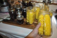 DSC_0472 Pickled Corn, Beans And Cornbread, Tart Taste, Ears Of Corn, Just Eat It, Big Bowl, Fried Potatoes